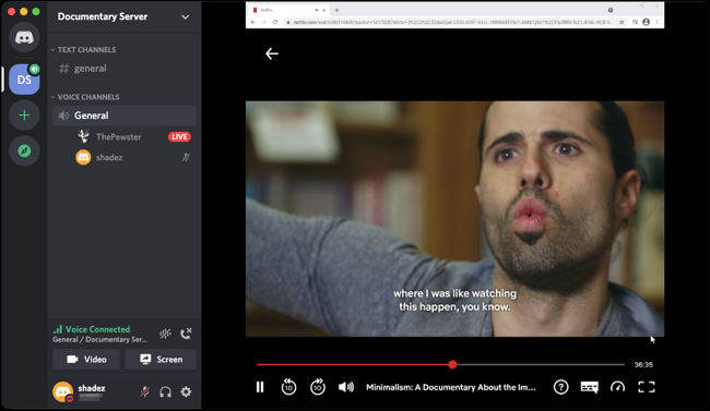 Netflix View From Friends Discord png