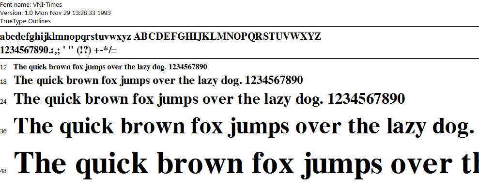 font vni times mien phi 1 png