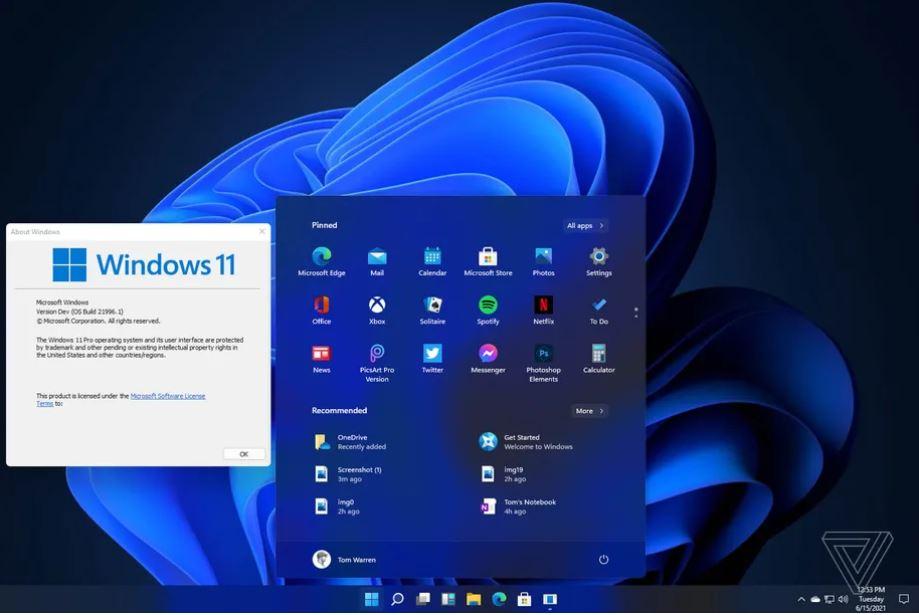 user interface windows 11 JPG