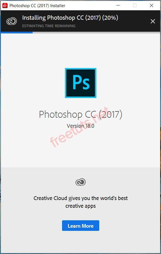 cai dat photoshop 2017 1 JPG