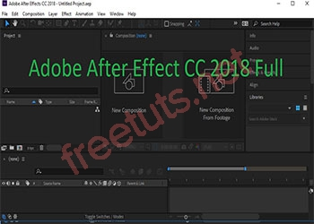 Download After Effect 2018 Full Active miễn phí 100%