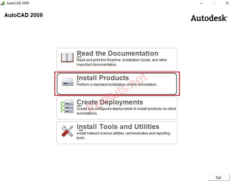 download autocad 2009 full 32bit 64bit full huong dan cai dat 2 jpg