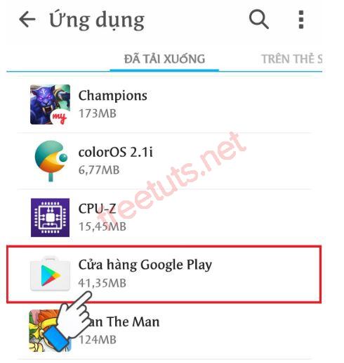 cach lay lai ch play tren dien thoai android 11 JPG