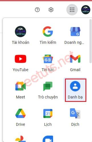 cach lay lai danh ba dien thoai android tu tai khoan google 6 jpg