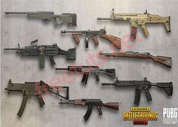Các loại súng tốt nhất trong PUBG Mobile 2021