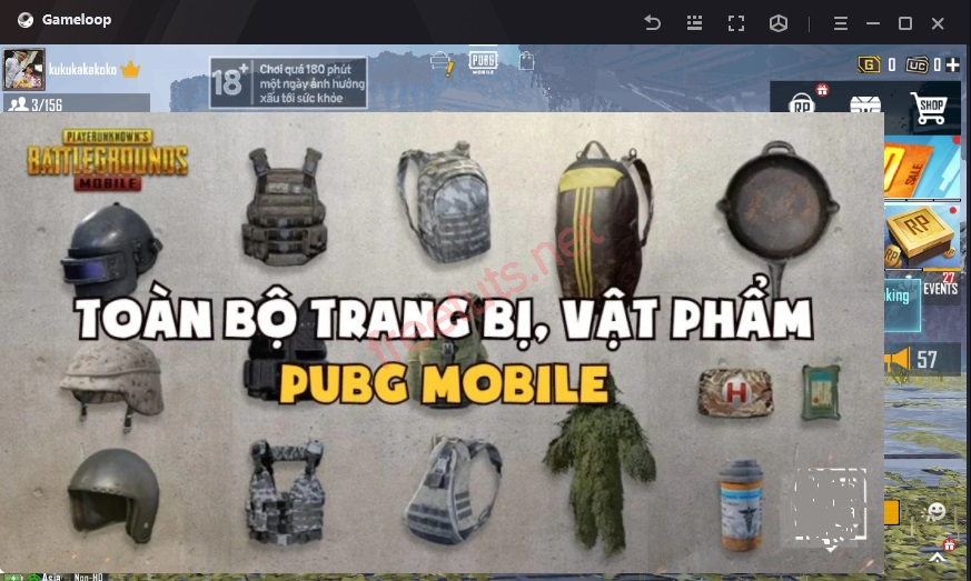 cach choi pupg mobile tren may tinh pc laptop 13 jpg