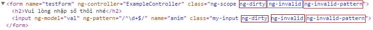 ví dụ ng-model và ng-model-partern