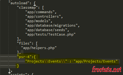 su dung event trong laravel PNG