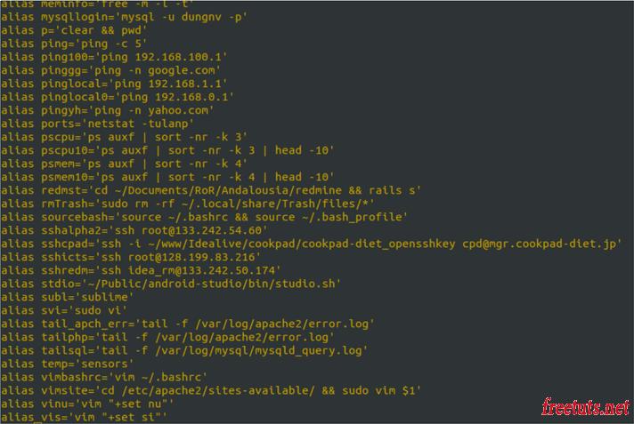 lenh alias trong linux 1 png