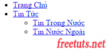 menu doc hai cap don gian png