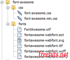 font wesome structure png