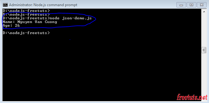 Bài 11: Xử lý JSON trong NodeJS
