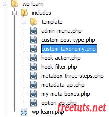 custom taxonomy trong wordpress 1 png