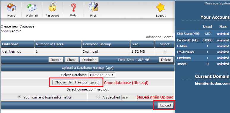 import database png