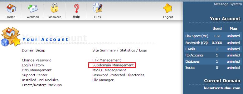 tao database direct admin 1 png