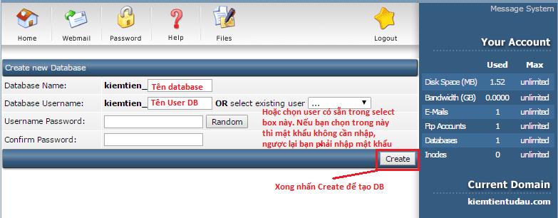 tao database direct admin 3 png