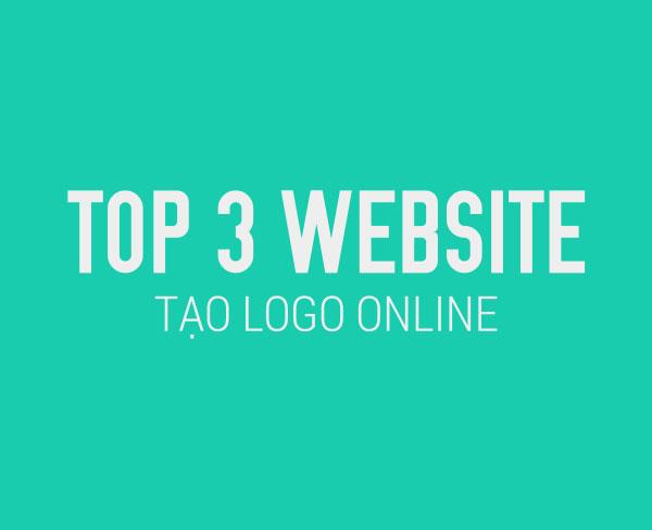 Top 3 website tạo logo online đơn giản