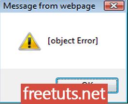 JavaScript Error Reference