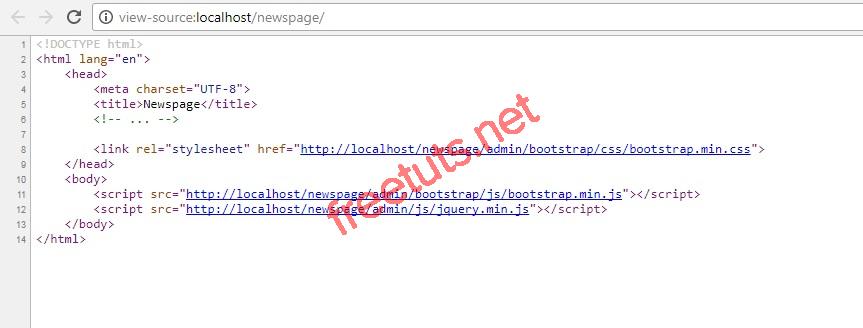 php trang tin tuc xay dung header va footer client view source jpg