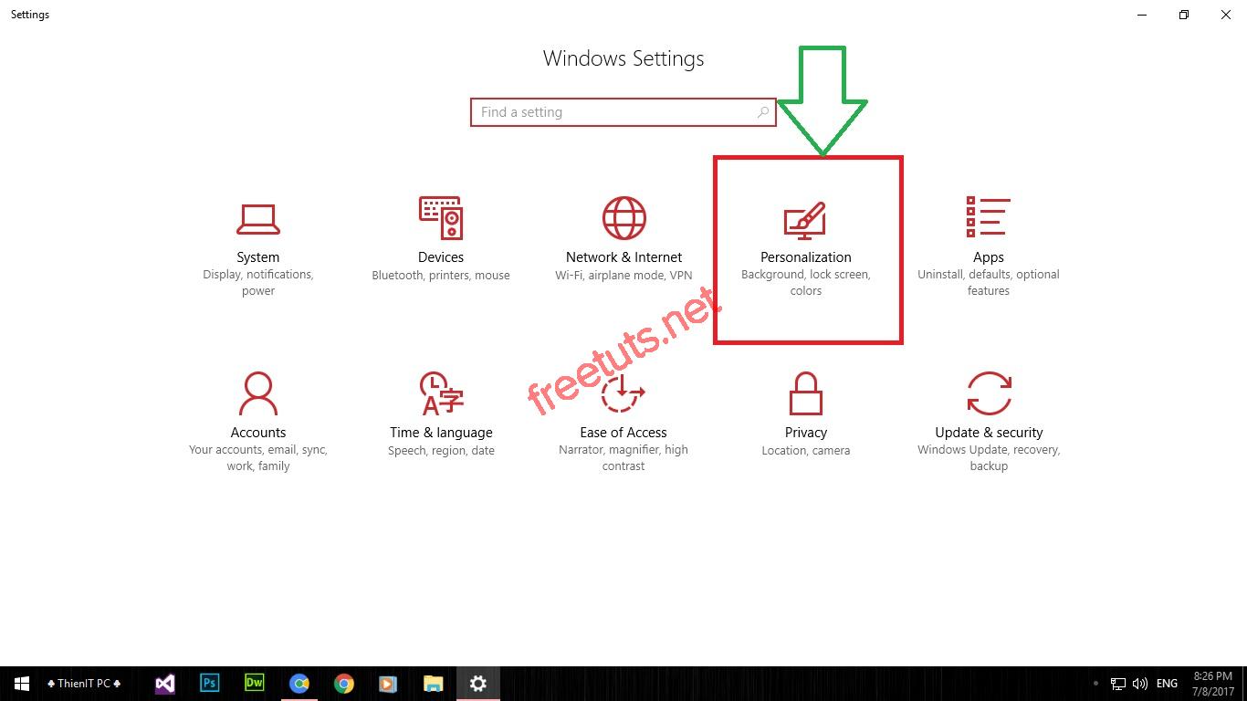 thu thuat tuy bien start menu tren windows 10 03 jpg