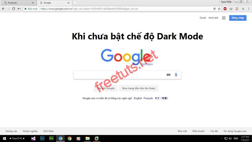 thu thuat bat che do dark mode 01 jpg