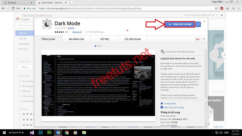 thu thuat bat che do dark mode 05 jpg