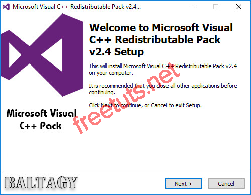 download microsoft visual c 2B 2B redistributable repack 04 jpg