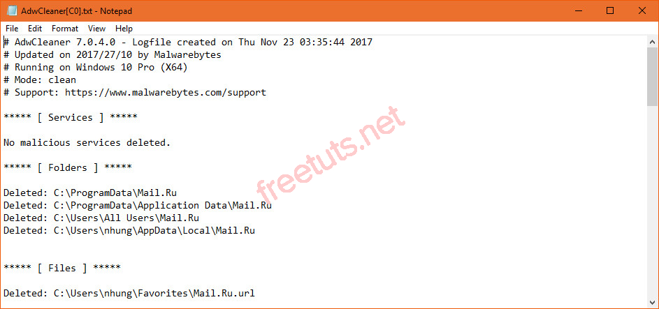 Download Malwarebytes AdwCleaner 7 0 3 1 - Quét Dọn Quảng
