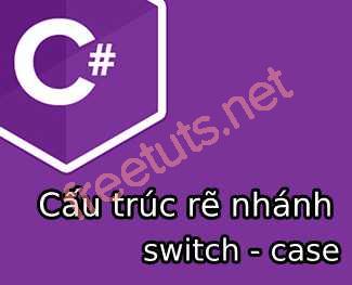 Cấu trúc rẽ nhánh switch - case trong C#