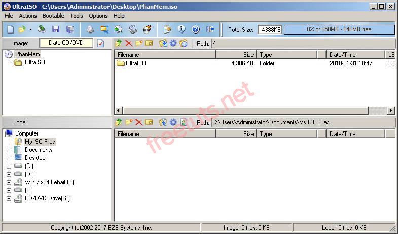 Download UltraISO 9 7 Full Key - Phần mềm tạo và chỉnh sửa tệp tin