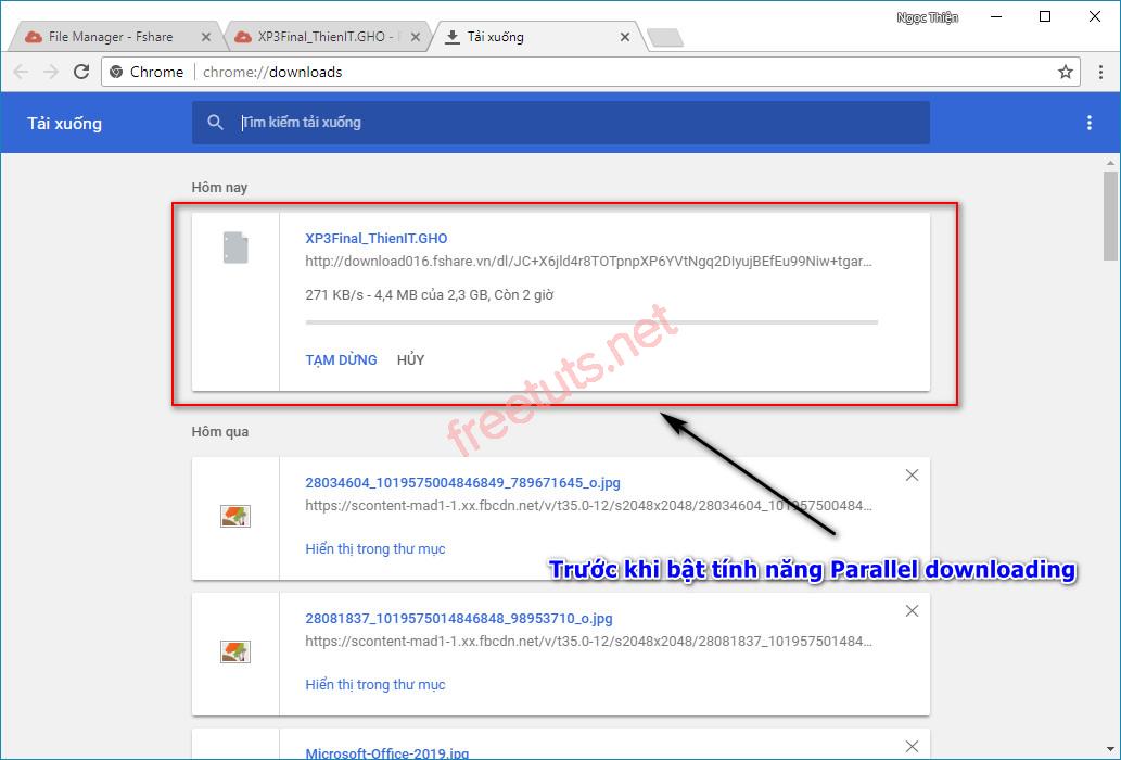 kich hoat tinh nang parallel downloading tang toc download tren google chrome 6 jpg