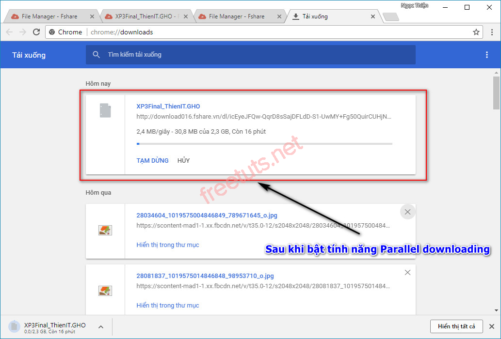 kich hoat tinh nang parallel downloading tang toc download tren google chrome 7 jpg