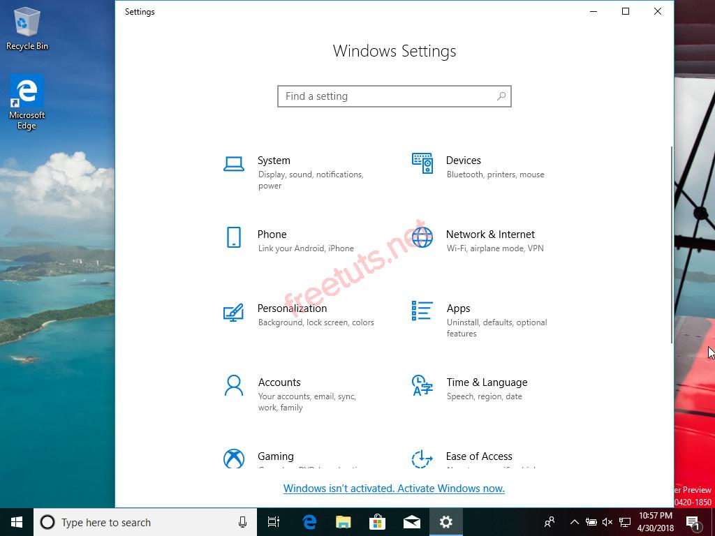 trai nghiem windows 10 lean phien ban rut gon khong lo full disk 8 jpg