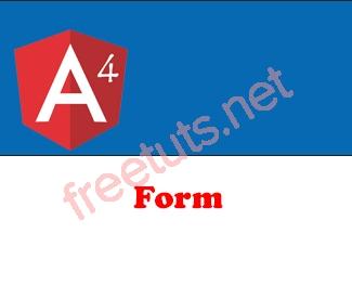 Form trong Angular 4