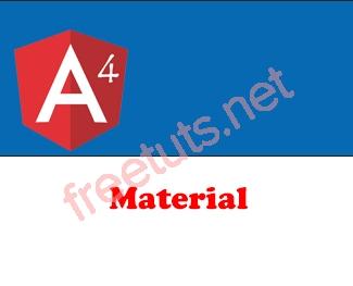 Angular 4 Material