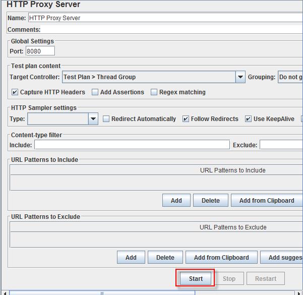 HTTP Proxy Server trong JMeter 8 png