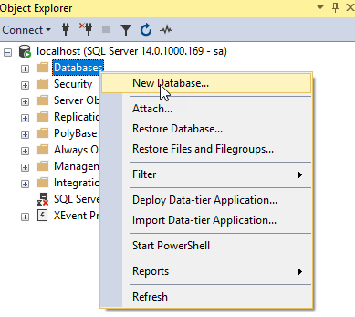 step 2 create a new database png