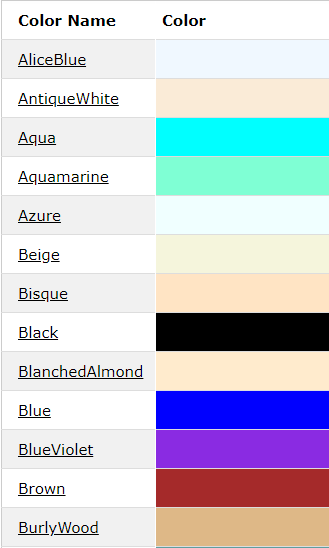css color png