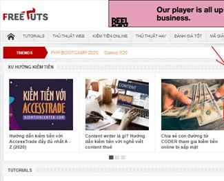 Mô hình làm website kiếm tiền với affiliate