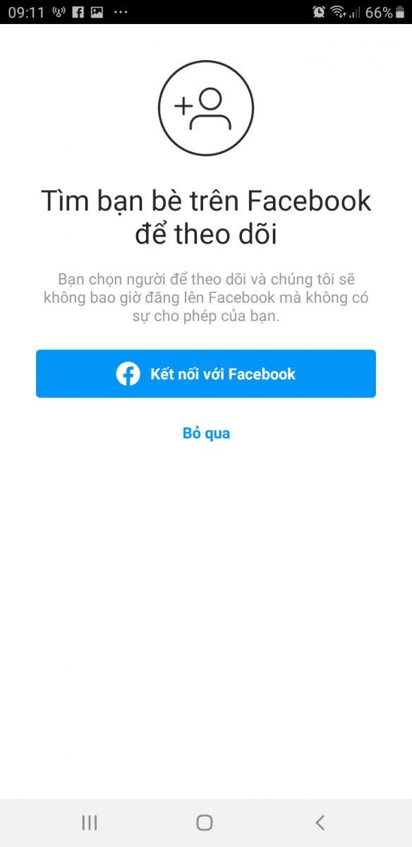 tìm bạn bè trên Facebook để theo dõi