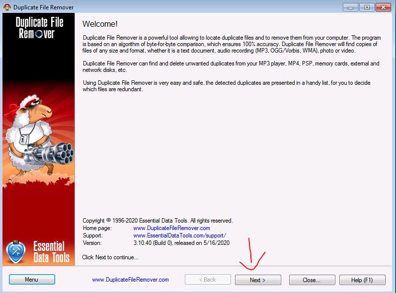 duplicate file remover 6 JPG