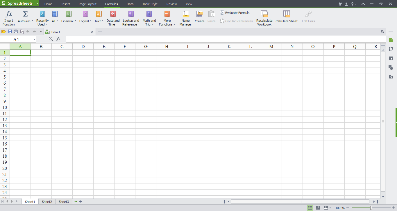 WPS SpreadSheets png