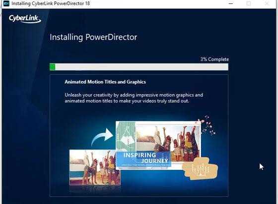 CyberLink PowerDirector setup 7 jpg
