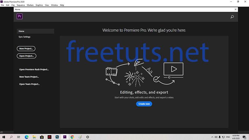 adobe premiere pro cc 2020 setup finish freetuts jpg