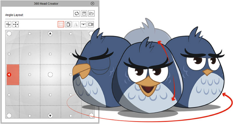 cartoon animator 4 360 Head Creator jpg
