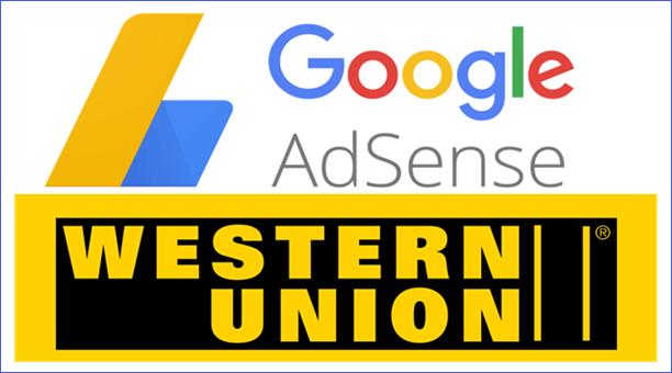 nhan tien google adsense thong qua western union png