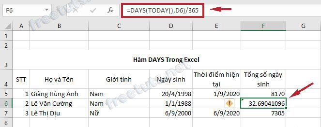 ham co ban trong excel 8 days 2 jpg