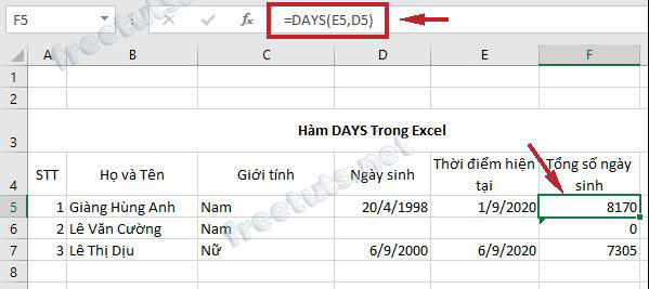 ham co ban trong excel 8 days jpg