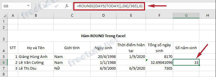 ham co ban trong excel 9 round jpg