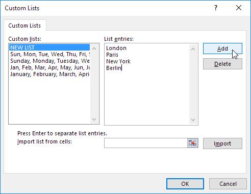 create custom list png